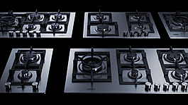 GCJ2SS Gas Cooktop Group