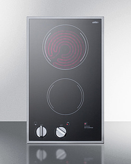 CR2B12ST Electric Cooktop Front