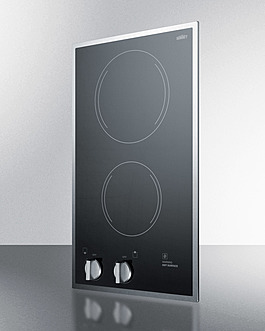 CR2B12ST Electric Cooktop Angle