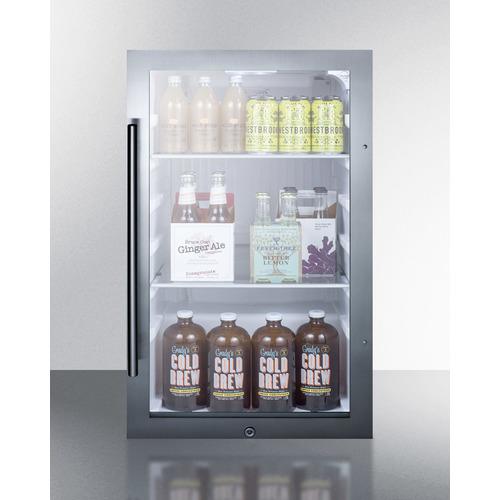 SPR489OSCSS Refrigerator Full