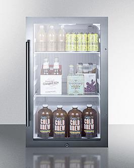 SPR489OS Refrigerator Full