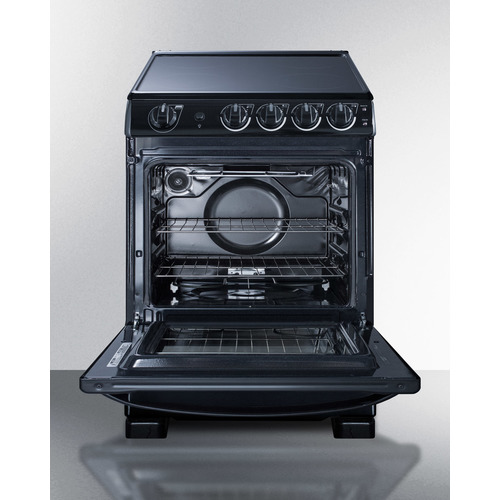 REX2431BRT Electric Range Open