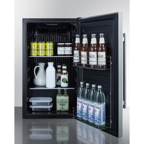 SPR196OS Refrigerator Full