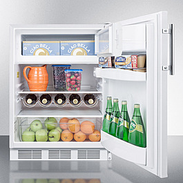 CT661 CLONE Refrigerator Freezer Full