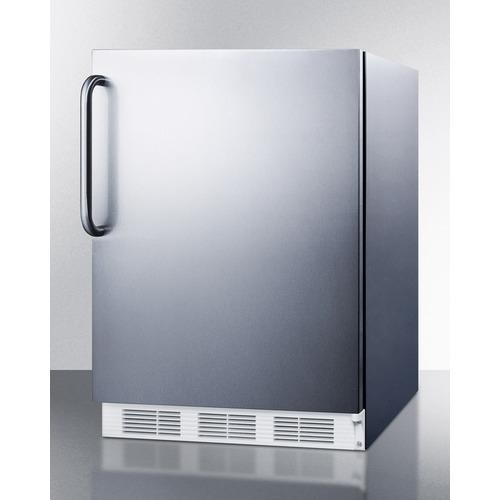CT661WCSS Refrigerator Freezer Angle