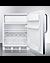 CT661WCSS Refrigerator Freezer Open