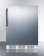 CT661WBISSTBADA Refrigerator Freezer Front