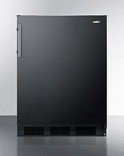 CT663BK Refrigerator Freezer Front