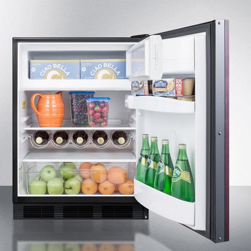 CT663BKBIIF Refrigerator Freezer Full