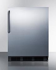 CT663BKCSS Refrigerator Freezer Front