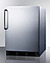 CT663BKCSS Refrigerator Freezer Angle