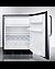 CT663BKCSS Refrigerator Freezer Open