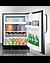 CT663BKCSS Refrigerator Freezer Full