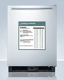 GP590 Refrigerator Front