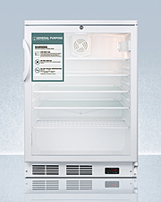SCR600GLGP Refrigerator Front