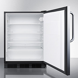 FF7LBLCSS CLONE Refrigerator Open