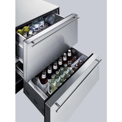 SP6DS2D7 CLONE Refrigerator Detail