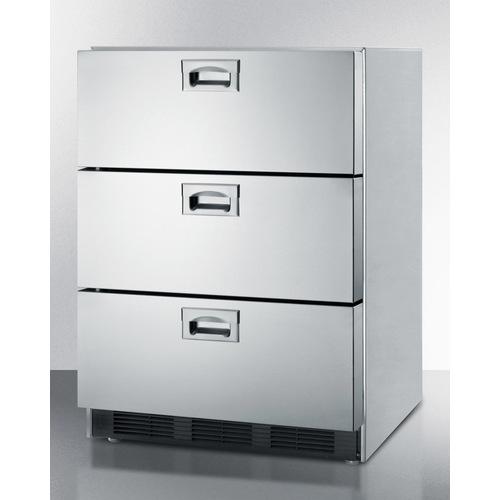 SP6DS7ADA CLONE Refrigerator Angle