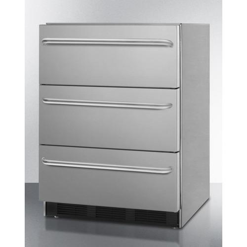 SP6DSSTB7ADA CLONE Refrigerator Angle