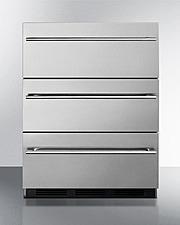 SP6DSSTB7Thin CLONE Refrigerator Front