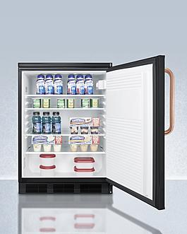 FF7LBLKTBC Refrigerator Full