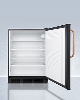 FF7LBLKBITBCADA Refrigerator Open
