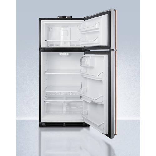 BKRF18SSCP Refrigerator Freezer Open