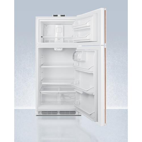 BKRF18WCP Refrigerator Freezer Open