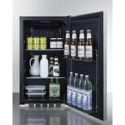 FF195CSSIF Refrigerator Full