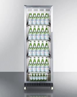 SCR1401LHRICSS Refrigerator Full