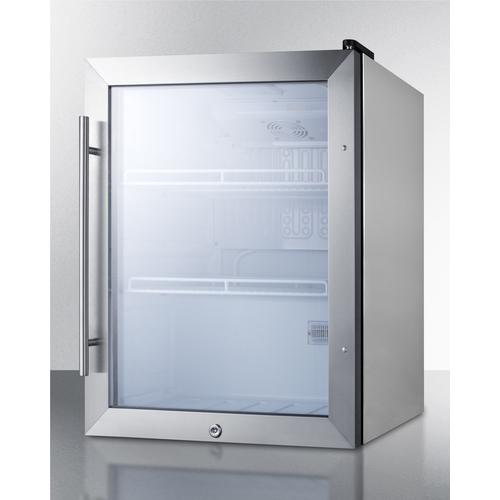 SCR314LCSS Refrigerator Angle