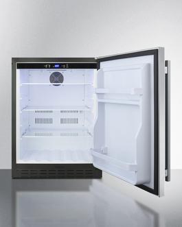 AL55CSS Refrigerator Open