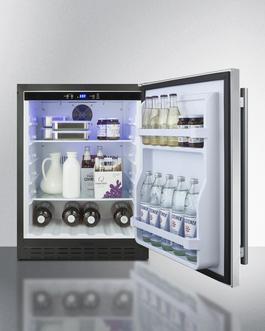 AL55CSS Refrigerator Full