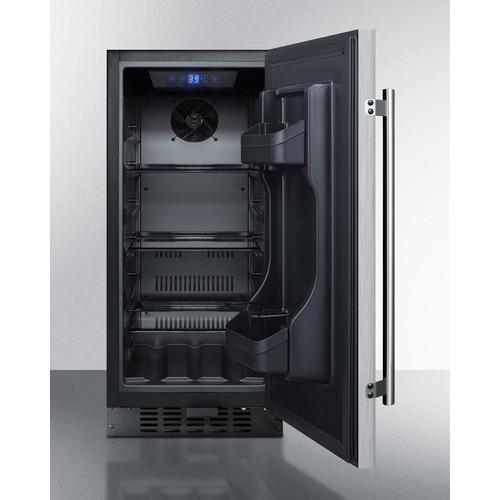 FF1532BSS Refrigerator Open