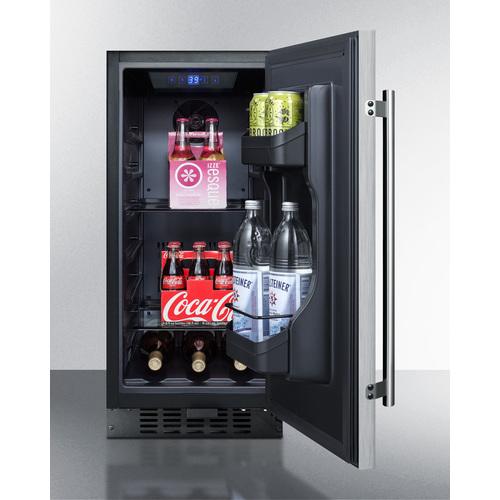 FF1532BSS Refrigerator Full