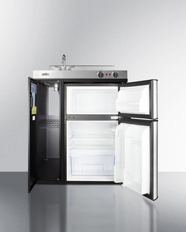 C30ELBK Kitchenette Open