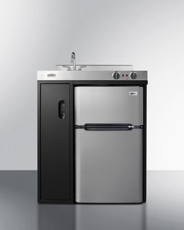 C30ELBK Kitchenette Front