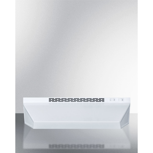H1620PTCRDWH Range Hood Front