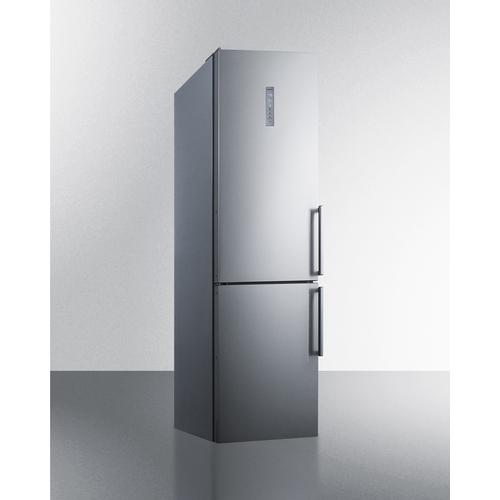 FFBF192SSBIIMLHD Refrigerator Freezer Angle
