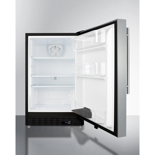 ALR47BSSHV Refrigerator Open