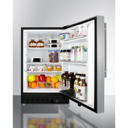 ALR47BSSHV Refrigerator Full