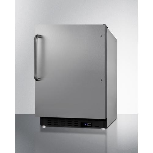 ALR47BCSS Refrigerator Angle
