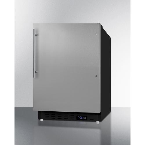 ALFZ37BSSHV Freezer Angle