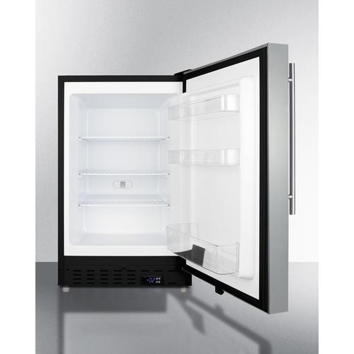 ALFZ37BSSHV Freezer Open