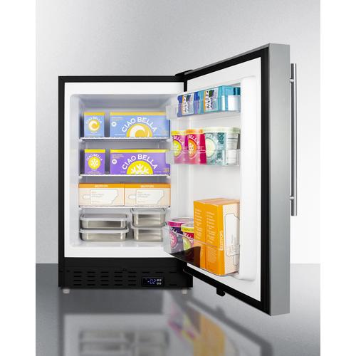 ALFZ37BSSHV Freezer Full