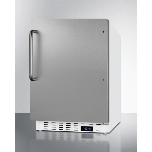 ALFZ36SSTB Freezer Angle