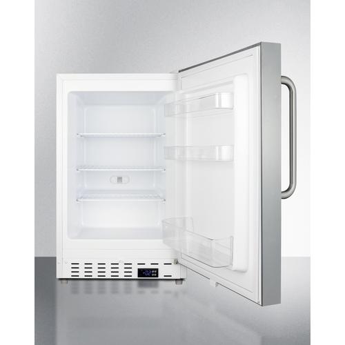 ALFZ36SSTB Freezer Open
