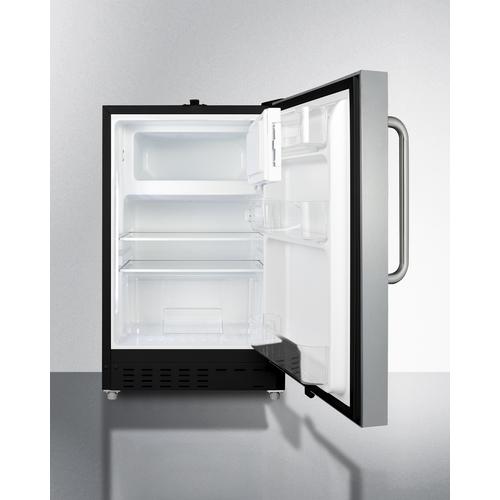 ALRF49BSSTB Refrigerator Freezer Open