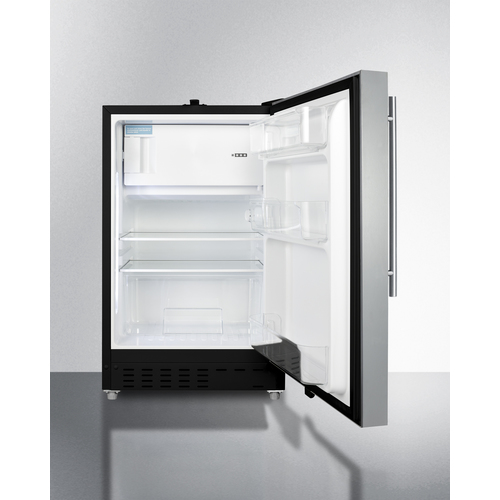 ALRF49BCSSHV Refrigerator Freezer Open