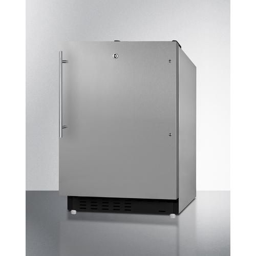 ALRF49BCSSHV Refrigerator Freezer Angle